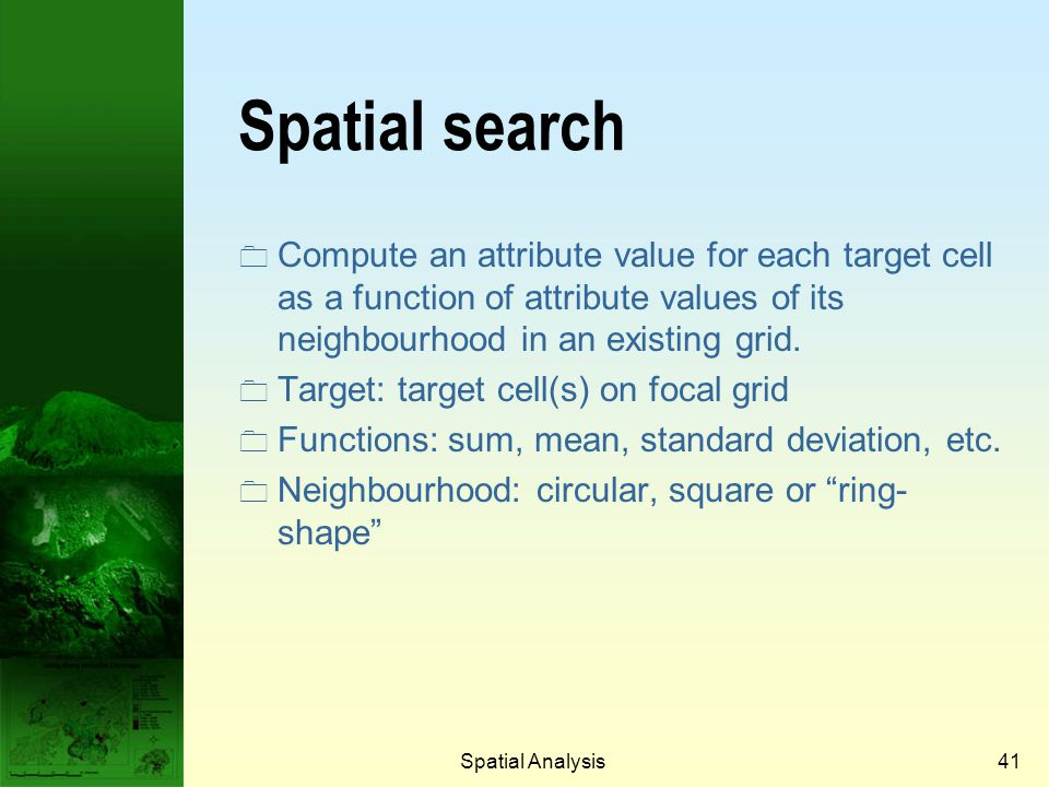 Prof. Qiming Zhou Spatial search.