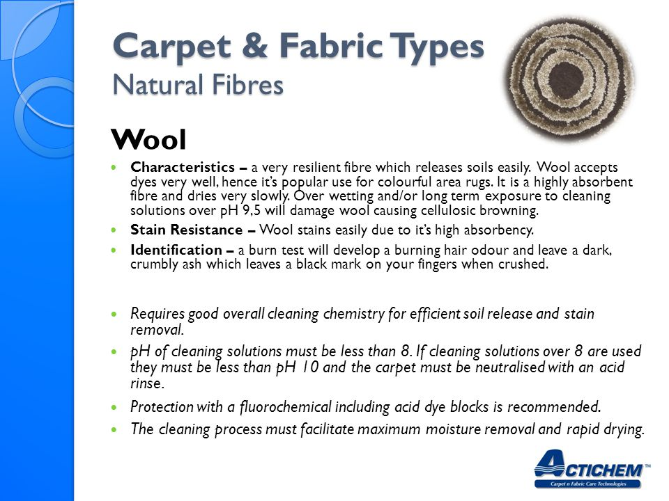 Carpet & Fabric Types Natural Fibres