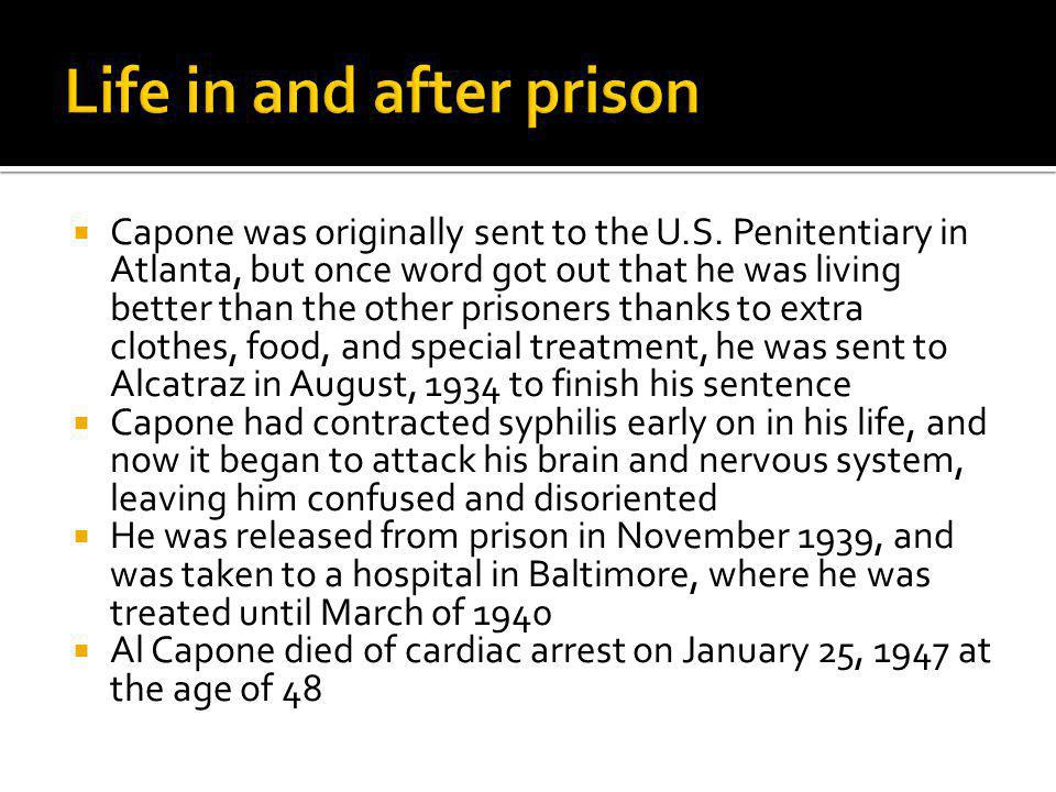 Life in and after prison