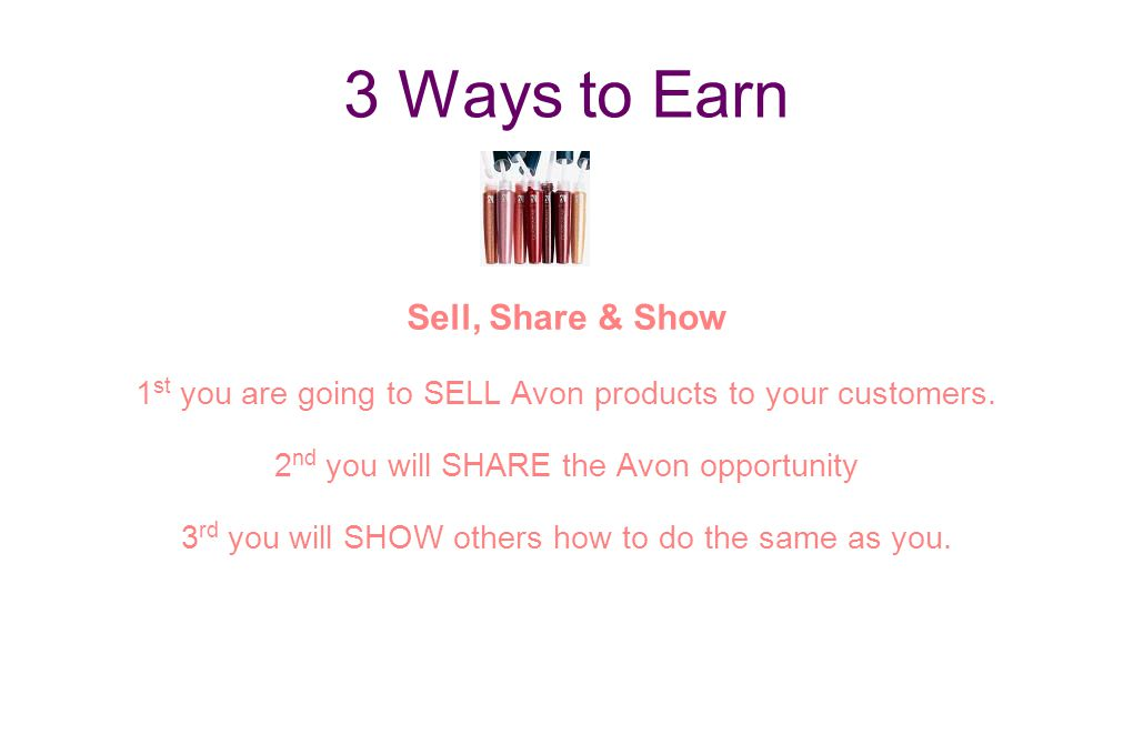 3 Ways to Earn Sell, Share & Show