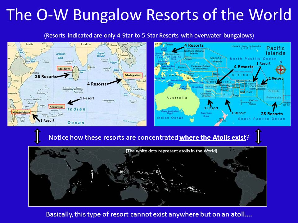 The O-W Bungalow Resorts of the World