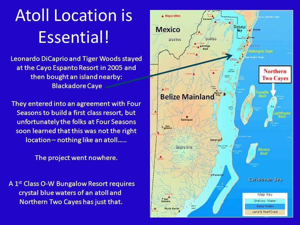 Atoll Location is Essential!