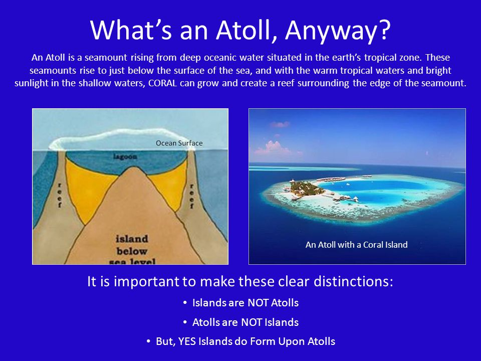 What's an Atoll, Anyway