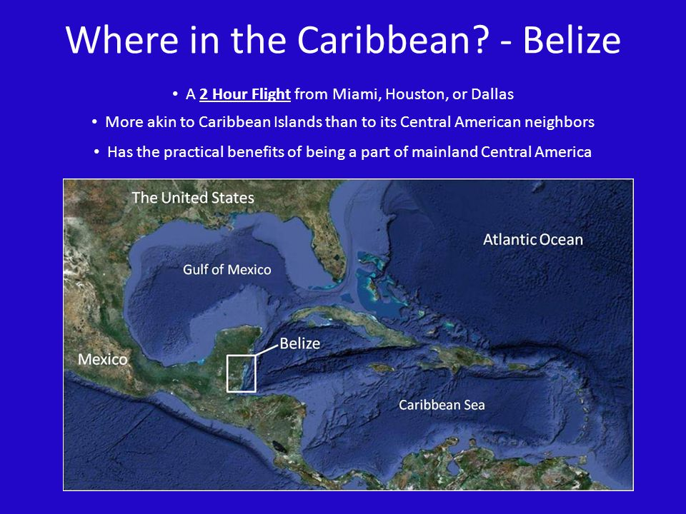 Where in the Caribbean - Belize