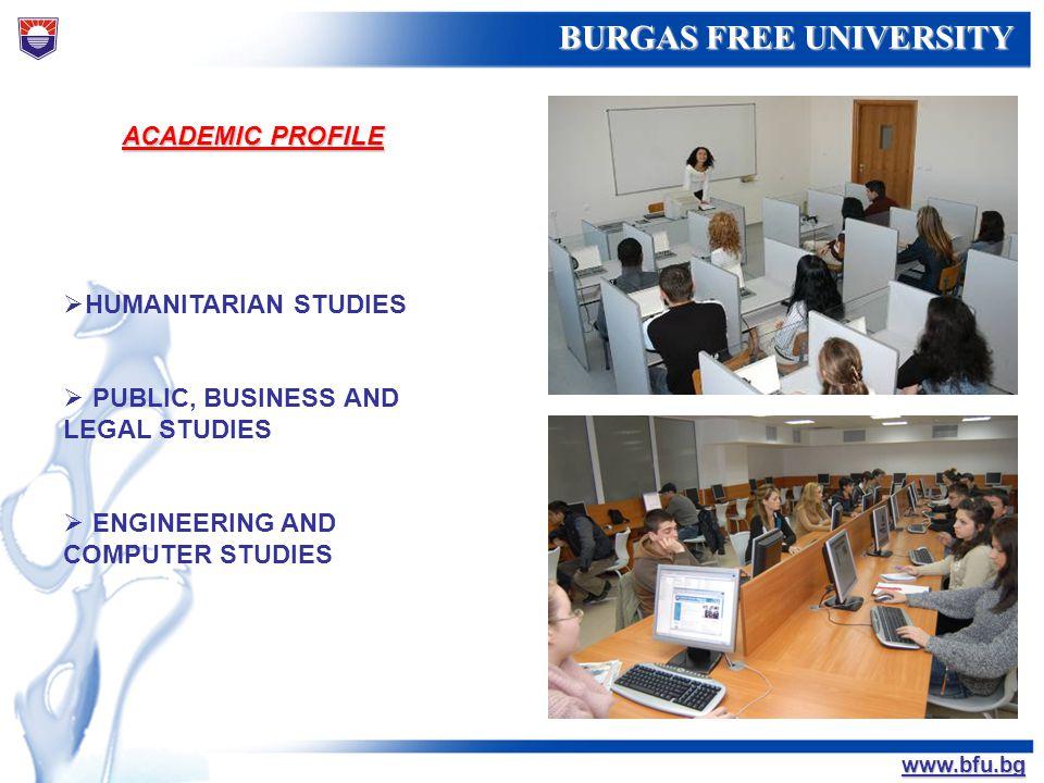 ACADEMIC PROFILE HUMANITARIAN STUDIES. PUBLIC, BUSINESS AND LEGAL STUDIES.