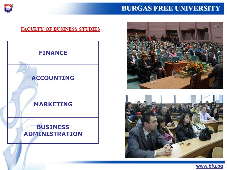 FACULTY OF BUSINESS STUDIES BUSINESS ADMINISTRATION