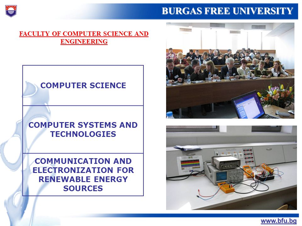 COMPUTER SYSTEMS AND TECHNOLOGIES