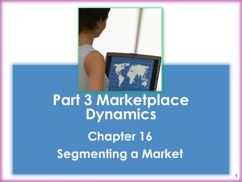 Part 3 Marketplace Dynamics