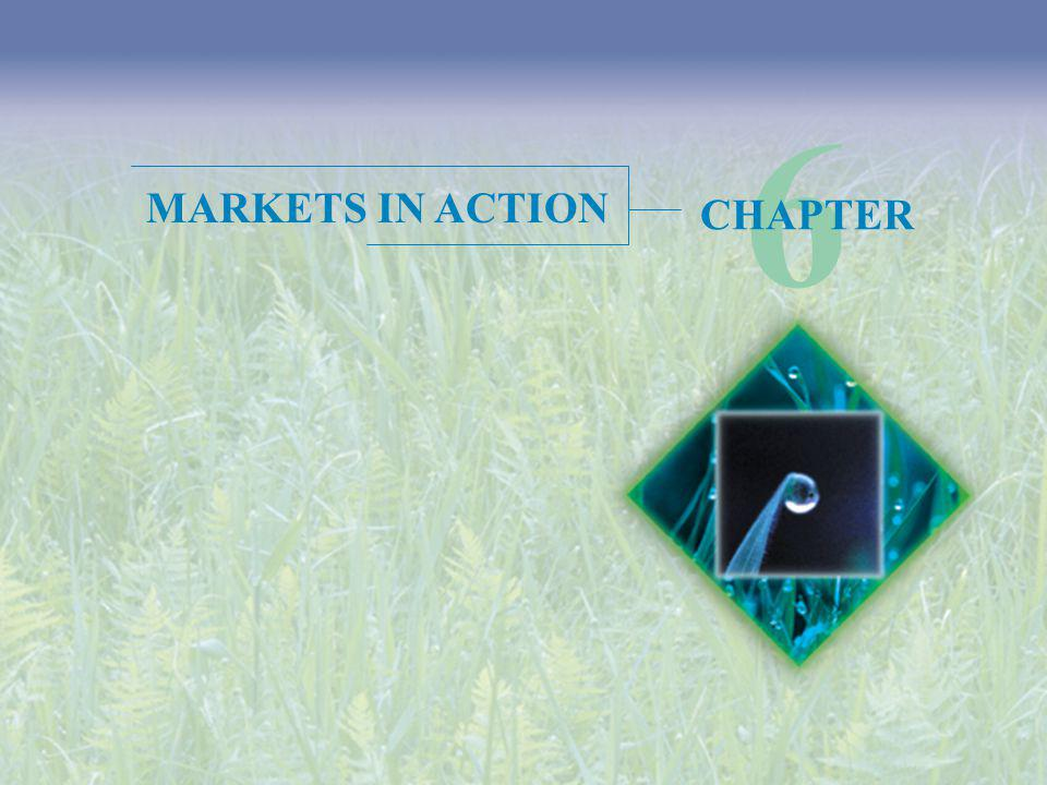 6 MARKETS IN ACTION CHAPTER