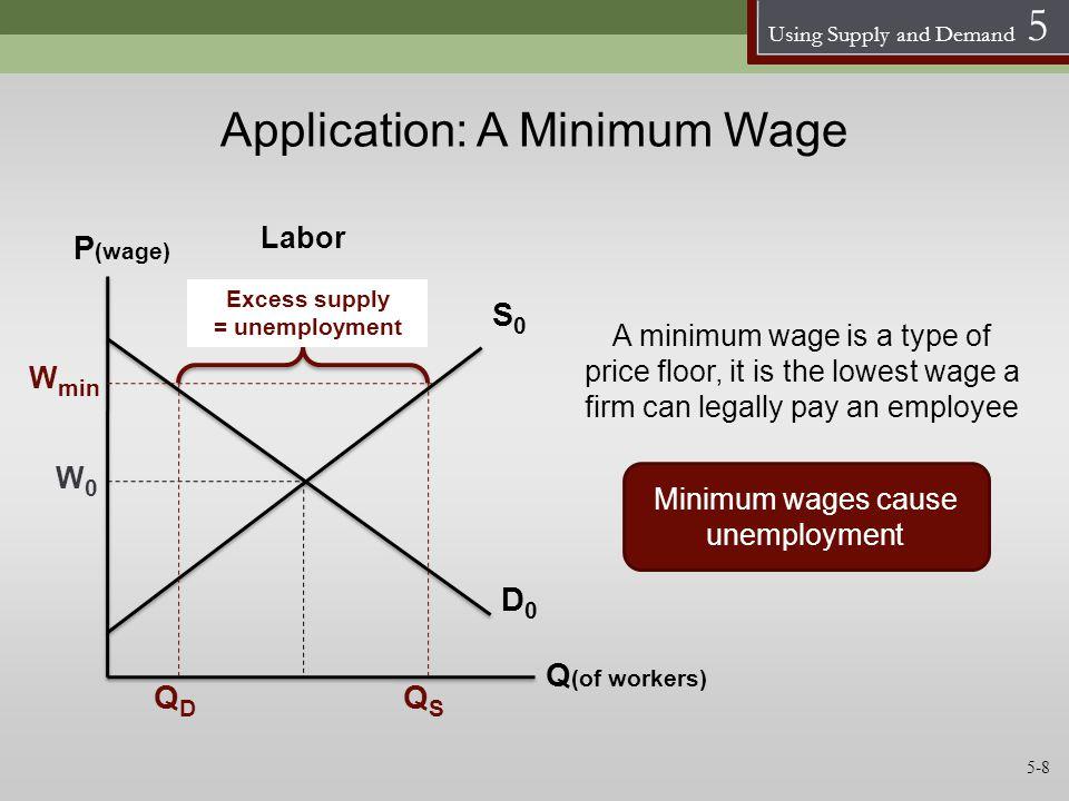 Application: A Minimum Wage