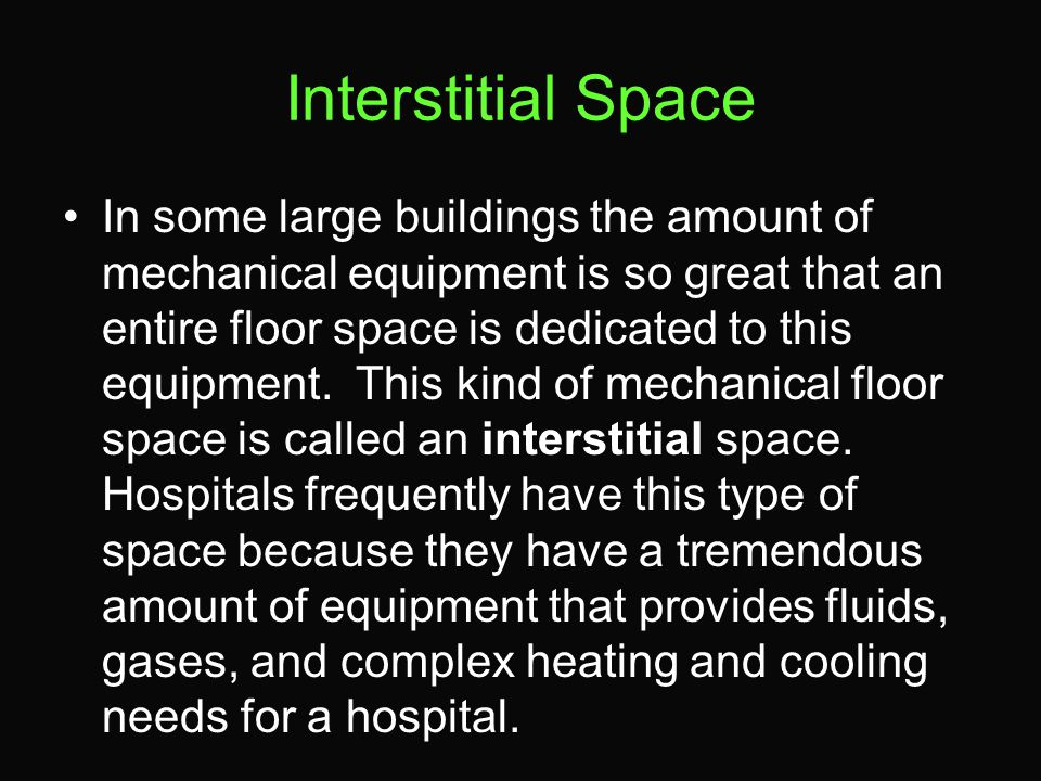Interstitial Space