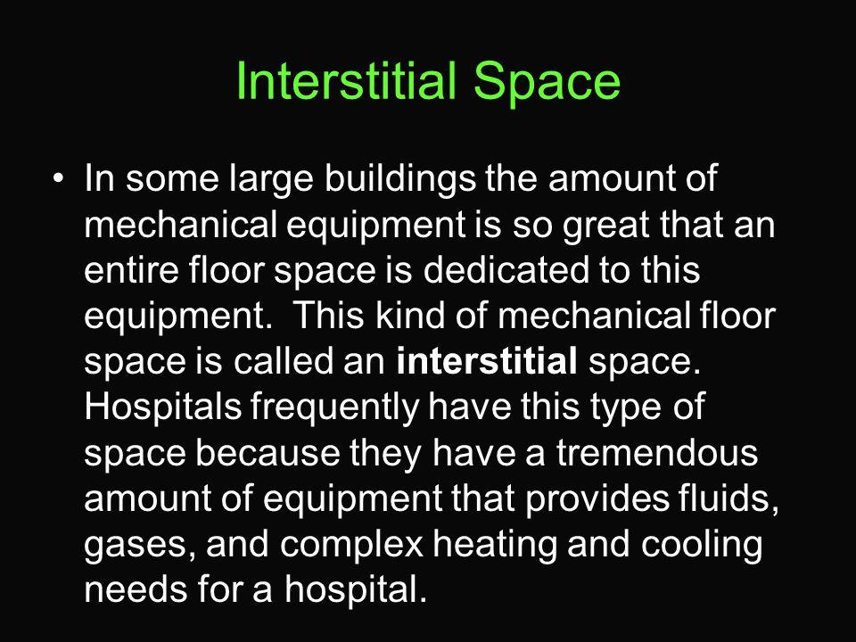 Interstitial Space