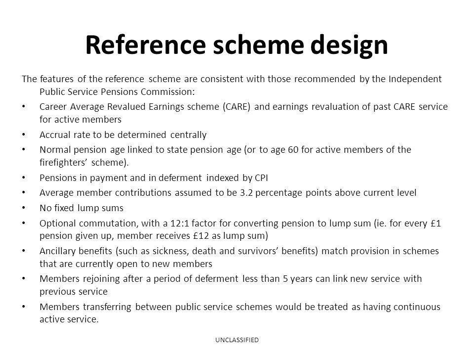 Reference scheme design