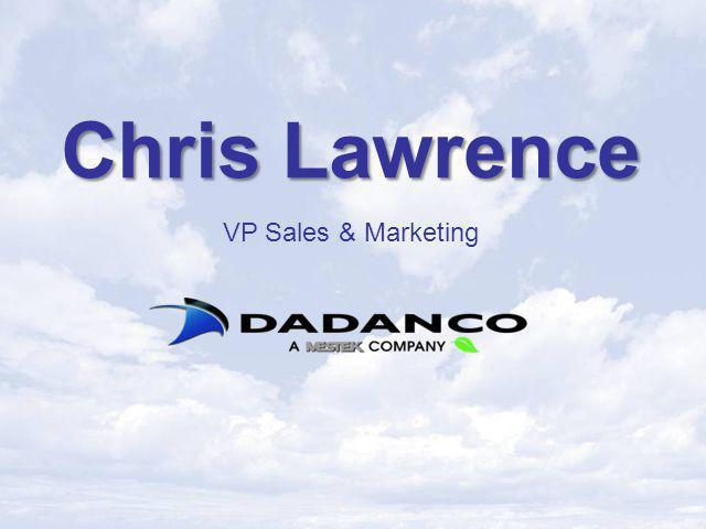 Chris Lawrence VP Sales & Marketing