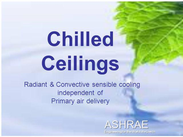 Radiant & Convective sensible cooling independent of