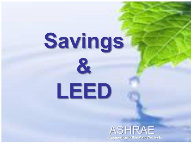 Savings & LEED