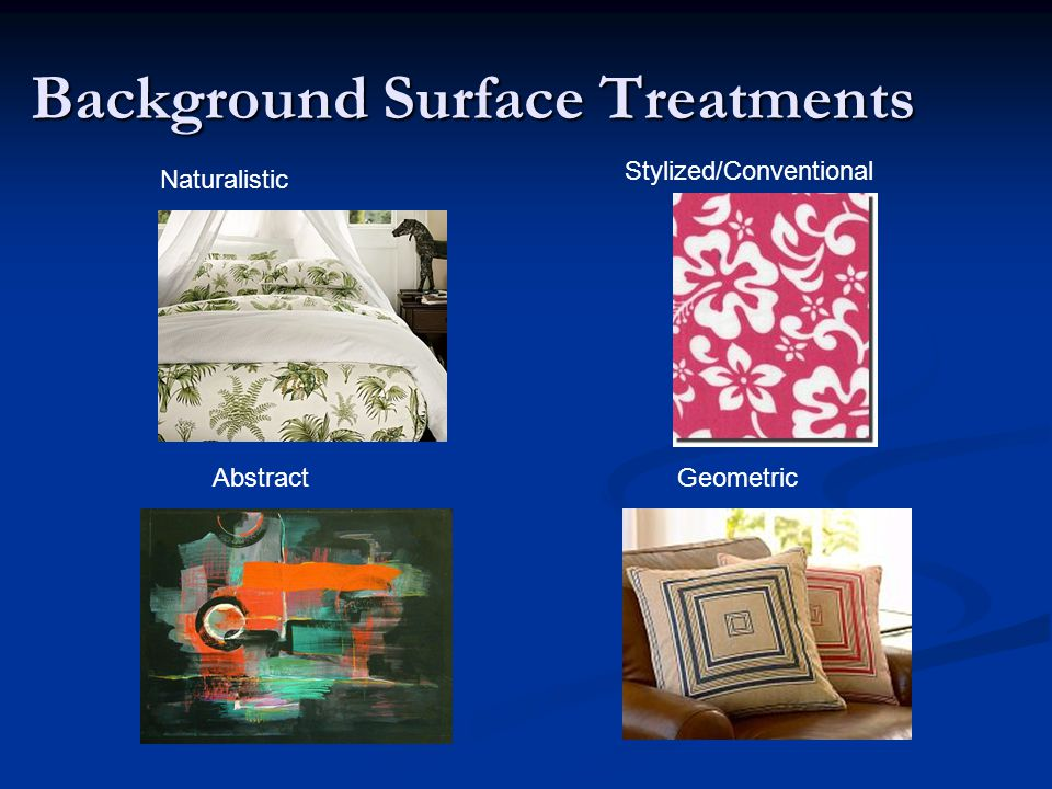 Background Surface Treatments