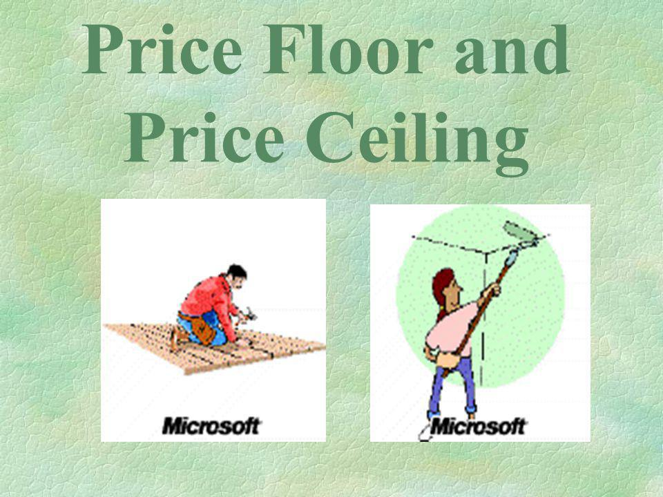 Price Floor and Price Ceiling