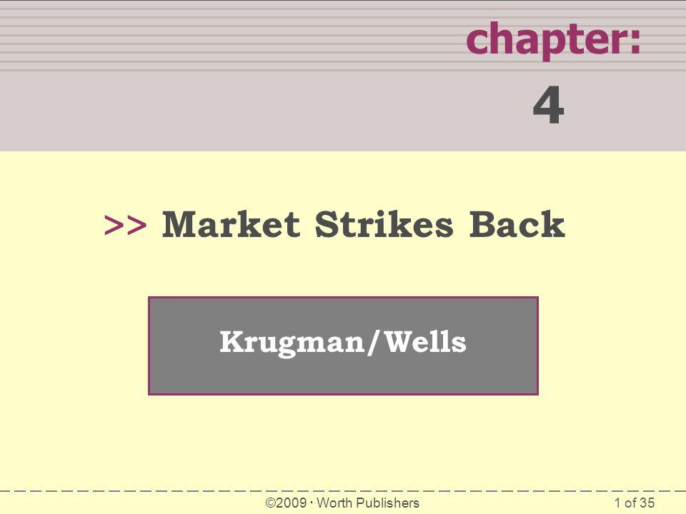 4 chapter: >> Market Strikes Back Krugman/Wells