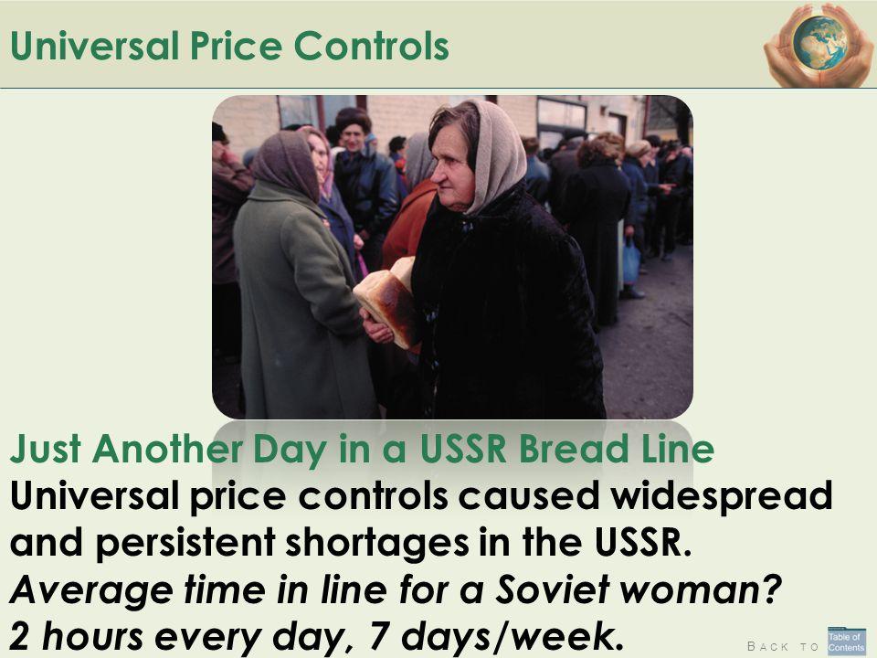 Universal Price Controls