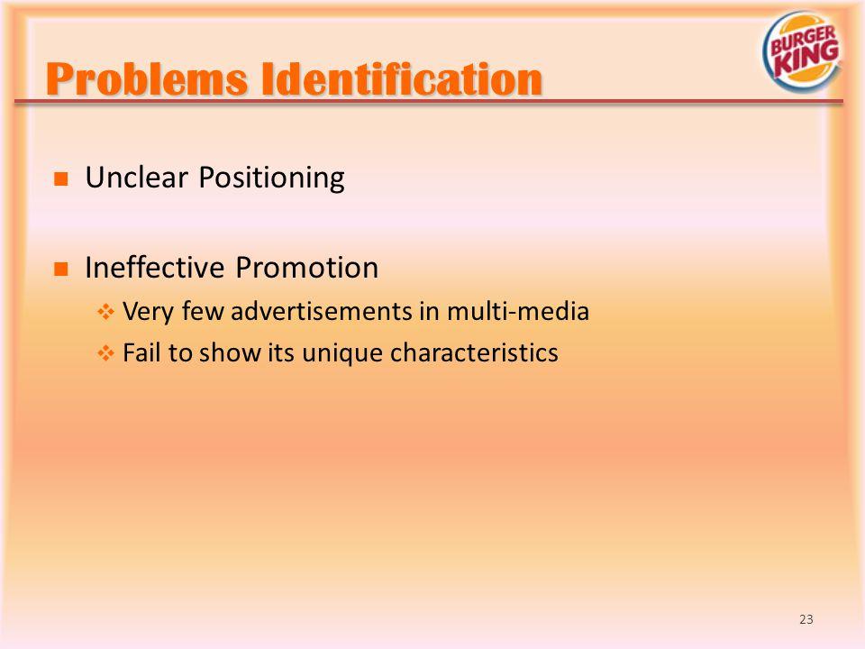 Problems Identification