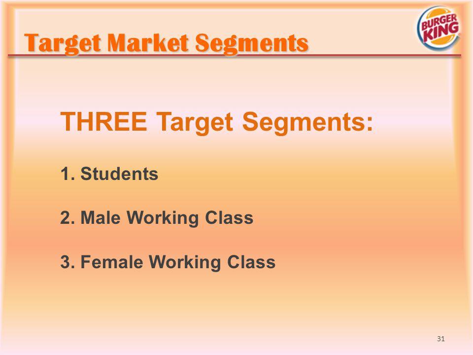 Target Market Segments