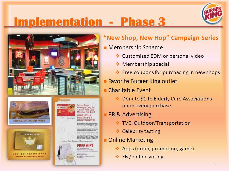 Implementation - Phase 3