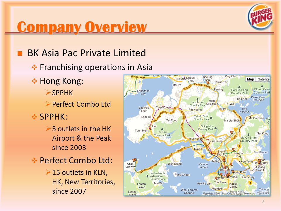 Company Overview BK Asia Pac Private Limited
