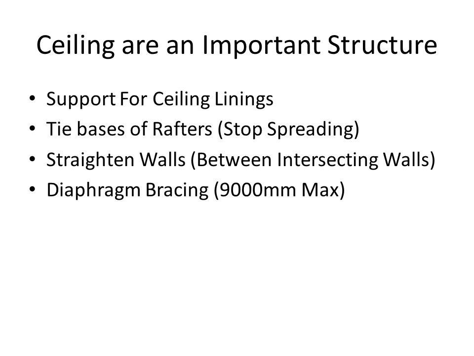 Ceiling are an Important Structure
