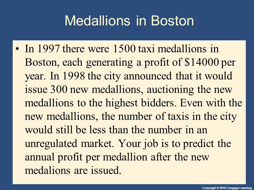 Medallions in Boston