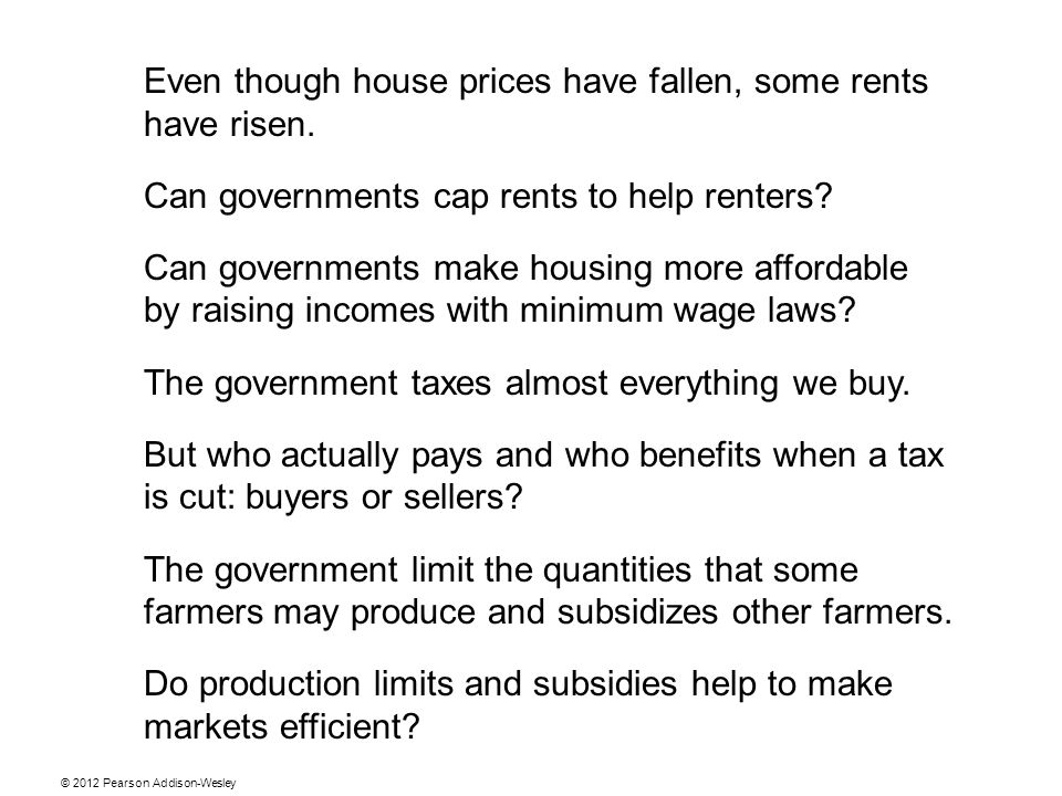 Even though house prices have fallen, some rents have risen.