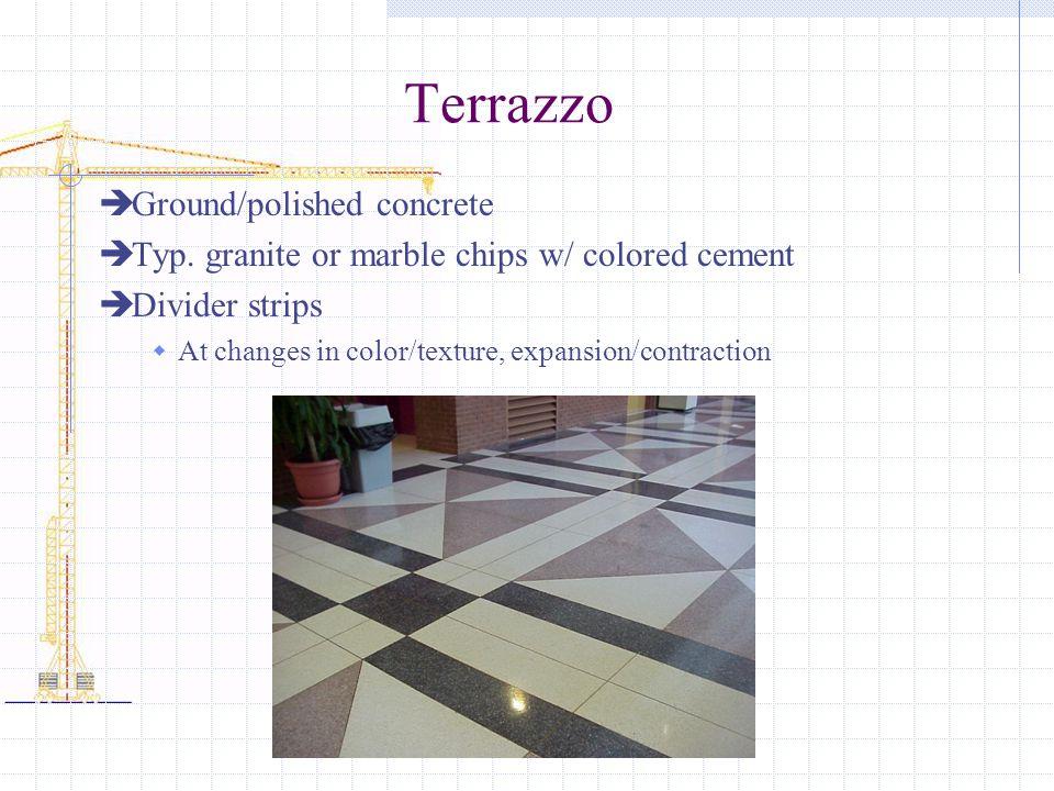 Terrazzo Ground/polished concrete