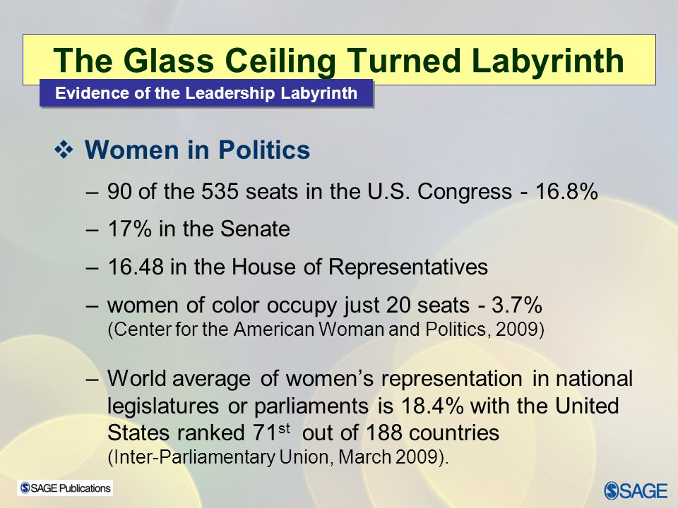 The Glass Ceiling Turned Labyrinth
