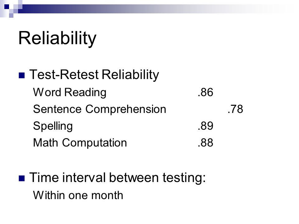 arithmetic mean and reliability Weibull reliability metrics as was mentioned in last month's reliability basics , the pdf can be used to derive commonly-used reliability metrics such as the reliability function, failure rate, mean and median.