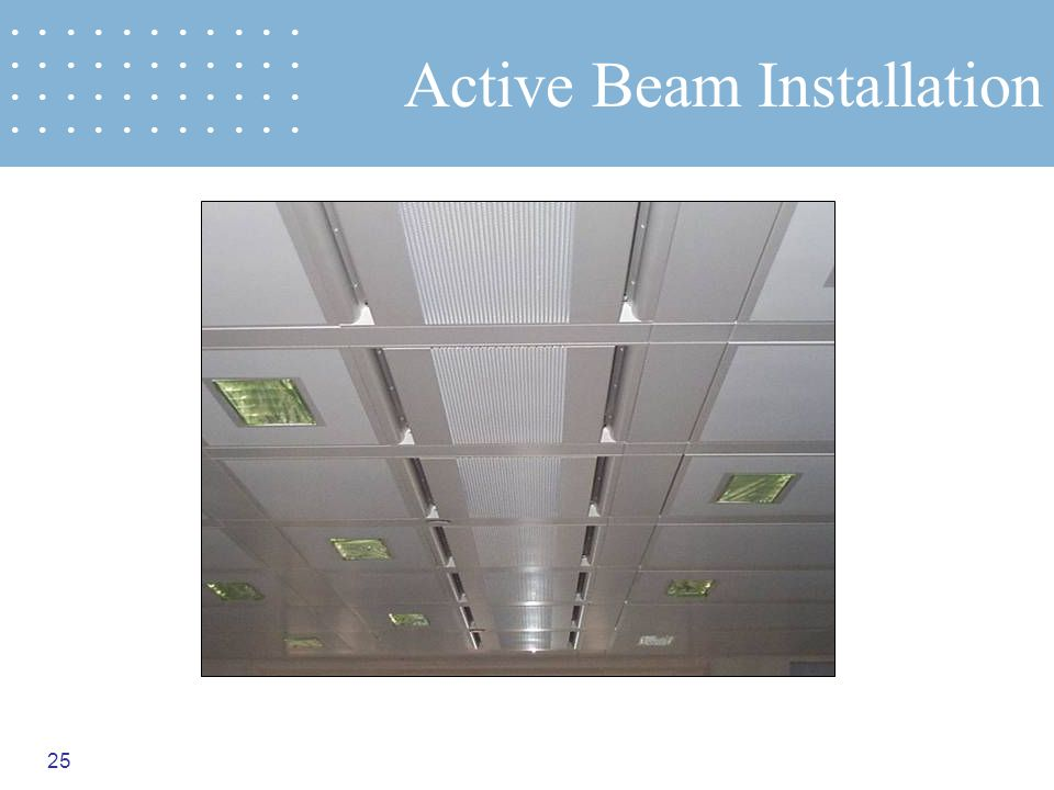 Active Beam Installation