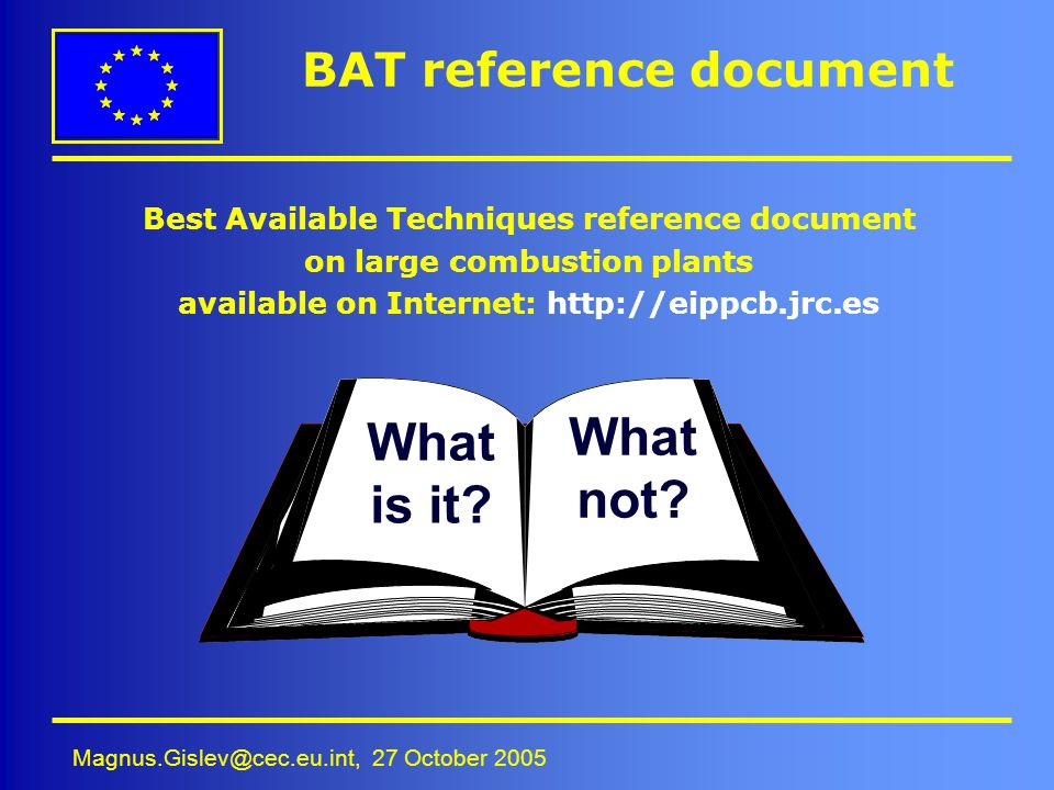 BAT reference document