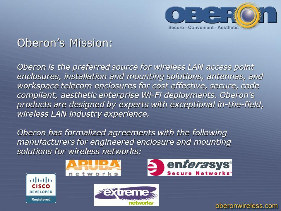 Oberon's Mission: