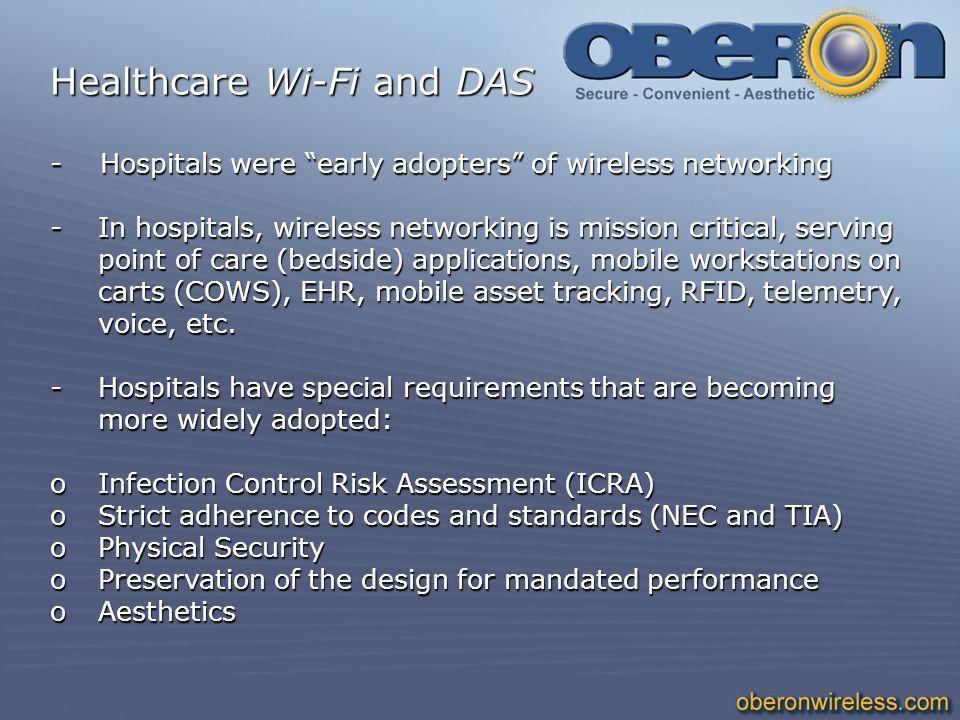 Healthcare Wi-Fi and DAS