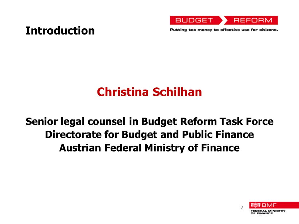 Christina Schilhan Introduction