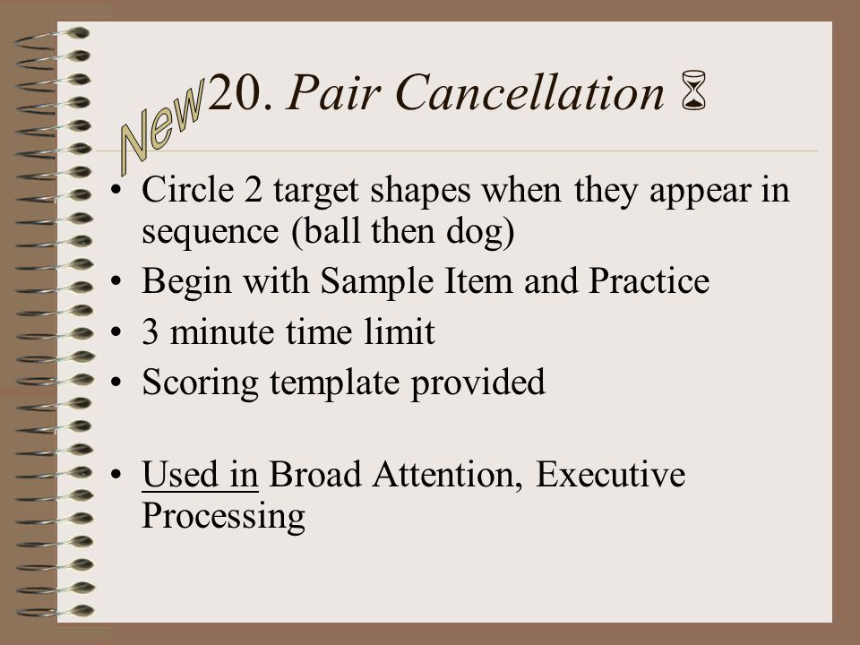 20. Pair Cancellation  New
