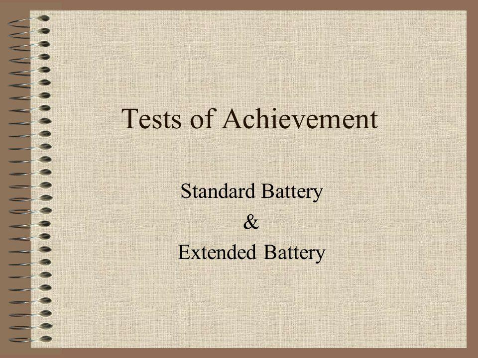 Standard Battery & Extended Battery