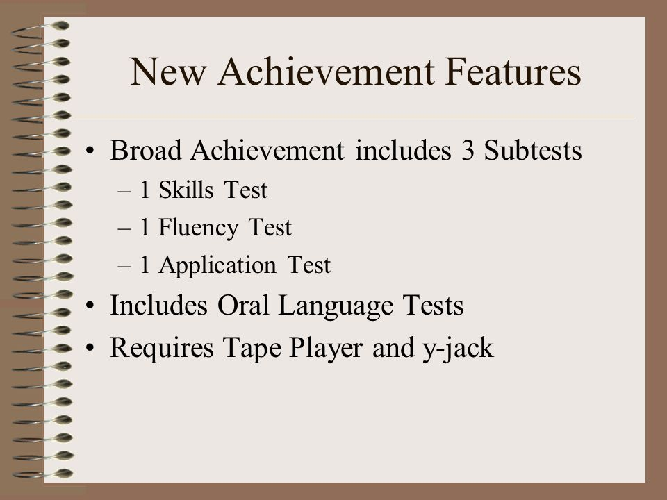 New Achievement Features