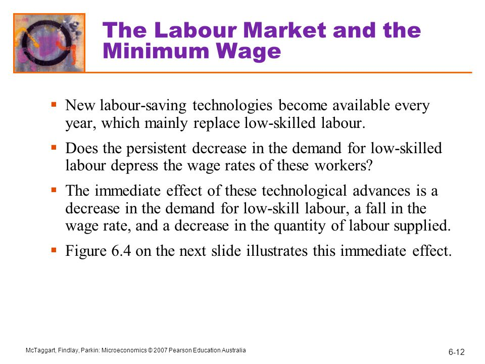 The Labour Market and the Minimum Wage