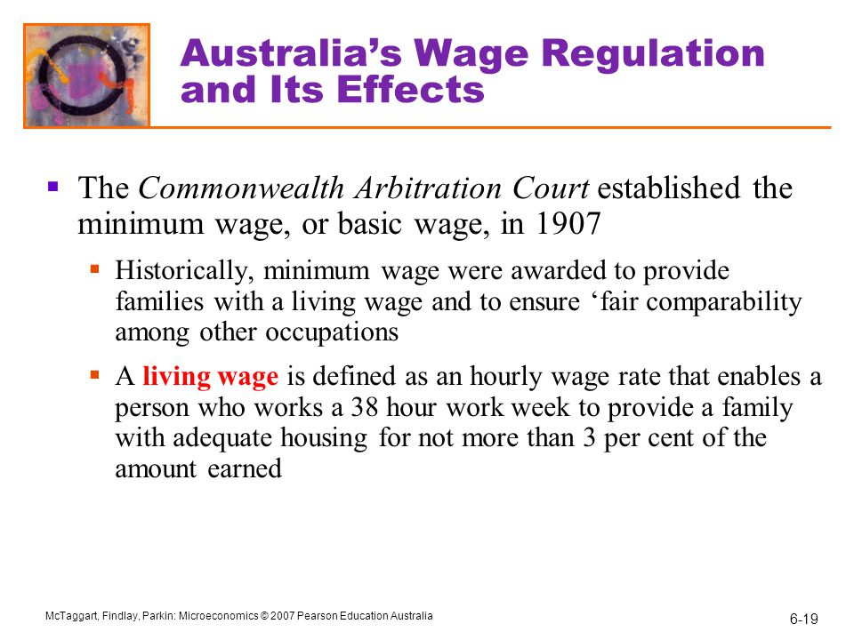 Australia's Wage Regulation and Its Effects