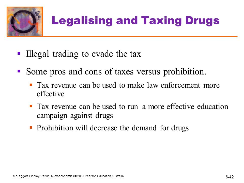 Legalising and Taxing Drugs
