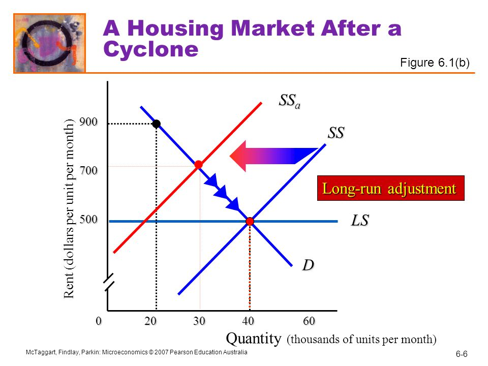 A Housing Market After a Cyclone