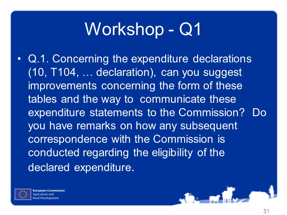 Workshop - Q1