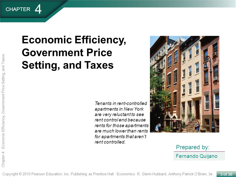 4 Economic Efficiency, Government Price Setting, and Taxes