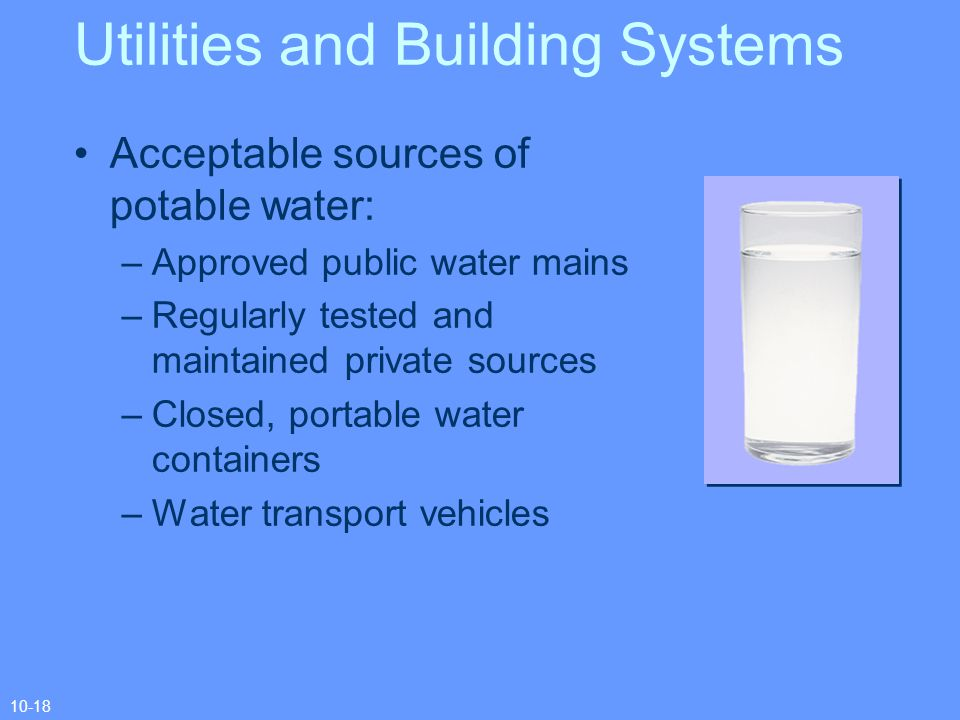 Utilities and Building Systems