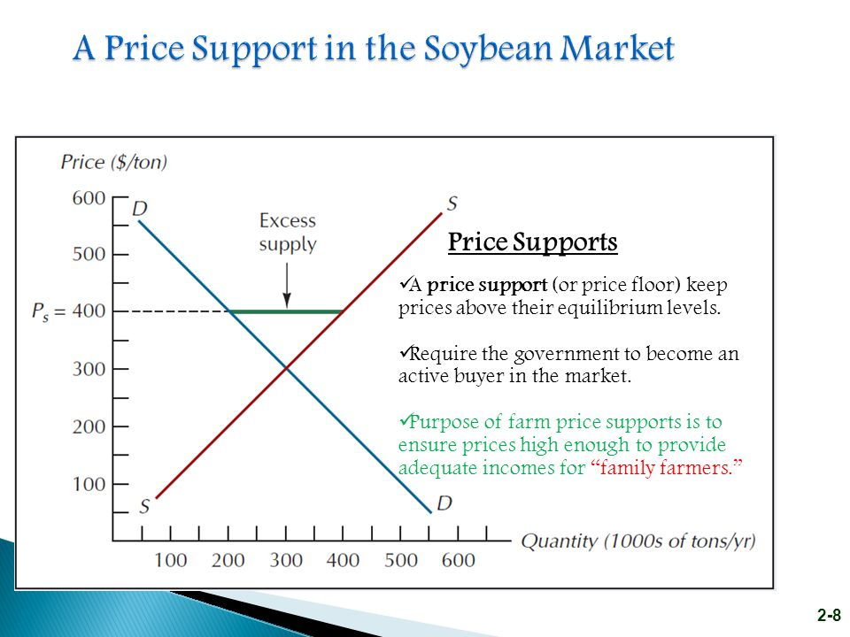A Price Support in the Soybean Market